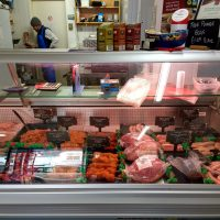 Cemaes Butcher Fresh Meat Cabinet