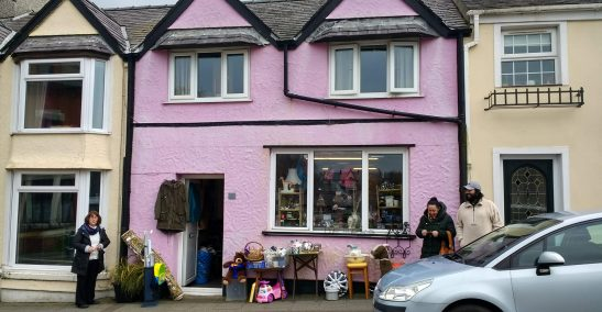 Bits and Pieces Charity Shop Cemaes