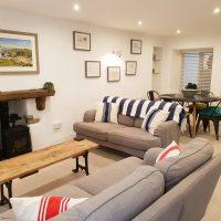 Pebble Cottage Living Room