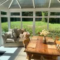 Coed Cottages Marchod Apartment Conservatory