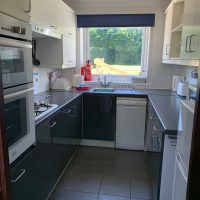 Coed Cottages Marchod Apartment Kitchen