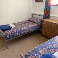 Coed Cottages Marchod Apartment Twin Bedroom