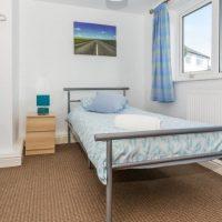 Coed Cottages Mawr Single bedroom