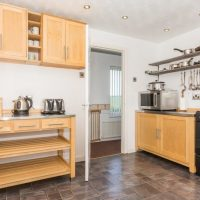 Coed Cottages Tyn Lon Kitchen