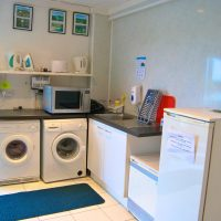 Coed Cottages Campsite Laundry Area